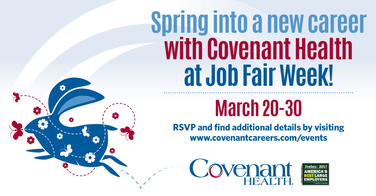 Spring into a New Career During Job Fair Week