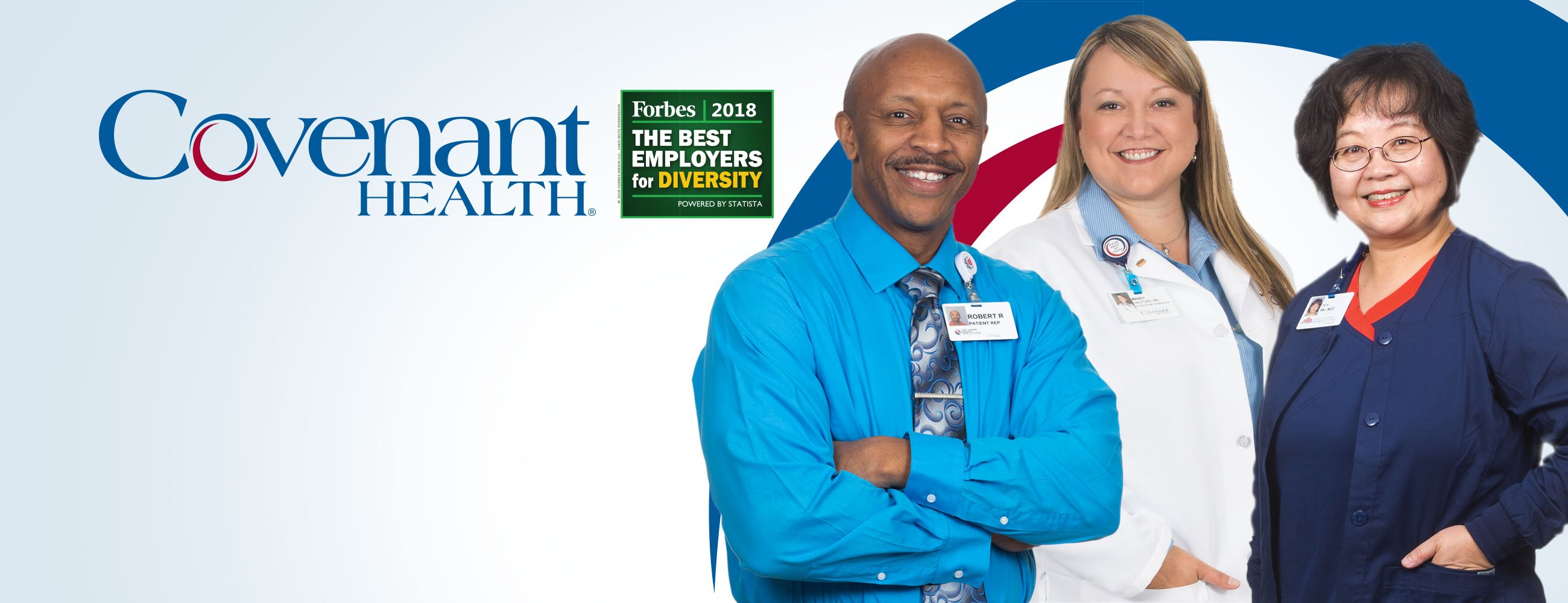 Covenant Health Named to Forbes List of America's Best Employers for Diversity